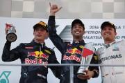 Ricciardo, Verstappen, Rosberg won Malaysia Formula One Grand Prix