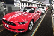 Ford Makes Announcement At Michigan Mustang Assembly Plant