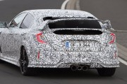 2018 Civic Type R Spied Testing On the Nurburgring