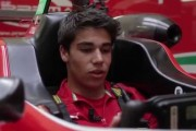 Future F1 driver Lance Stroll
