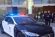 Freeze! Tesla Model S LAPD Cars Coming