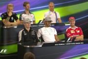 Drivers Face The Press | US Grand Prix 2016