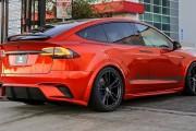 Tesla Model X SEMA 2016