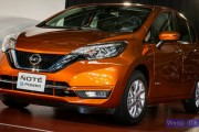 2017 Nissan Note e-Power. Japan debut