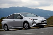 Toyota Motor Corp Test-drives New Prius
