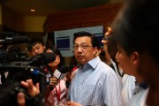 Malaysian Transport Minister Addresses Reporters