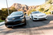 2016 Tesla Model S vs 2017 Chevrolet Bolt EV