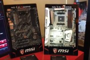 MSI Show Off NEW AMD RYZEN Motherboards at CES 2017