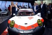 Porsche Press Conference at the L.A. Autoshow