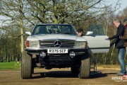 The Grand Tour: Mercedes SL Land Rover Discovery