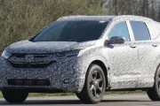 2018 Honda CR-V all-new model spotted, spy shots camo car Erlkönig neu
