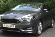 2017 Ford Focus Review: Comfortably Sporty, and High-Tech