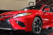 2018 Toyota Camry First Look: 2017 Detroit Auto Show