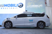 Google's self-driving minivan Waymo