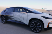 Faraday Future FF91 Taking On Tesla Model S P100D At 2017 Pikes Peak International Hill Climb