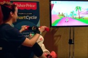 CES 2017 : The hi-tech exercise bike for three-year-olds
