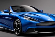 Aston Martin's Sexy 580-hp Vanquish S Volante Convertible