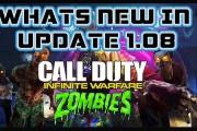 Infinite Warfare Zombies - Update 1.08 Overview