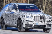 Rolls-Royce Cullinan SUV Spy Shots