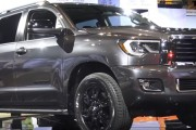 2018 Toyota Sequoia Amazes at the Chicago Auto Show
