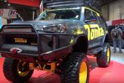 Meet the Mighty Full-Size SEMA Toyota Tonka 4Runner Truck