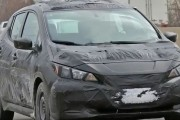 2018 Nissan Leaf Facelift Spy Shots