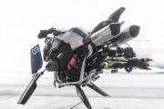 BMW Motorrad and Lego Team Up to Build a Flying Motorcycle
