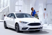 The 2017 Ford Fusion Sport