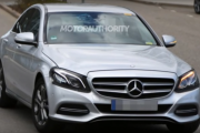 2019 Mercedes-Benz C-Class spy shots