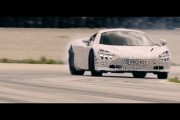Behind the scenes drifting the 2nd generation McLaren Super Series on track