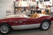 1953 Ferrari 166 MM Spyder Vignale & Engine Start Up on My Car Story with Lou Costabile