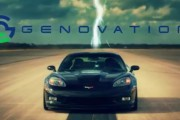 Genovation Cars' Electric Chevrolet Corvette Sets New Standing Mile Speed Record at 209 MPH!