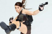 The New Face Of Lara Croft Revealed - Photocall