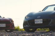 Fiat 124 Spider Versus Mazda MX 5 Review Road Test 4K