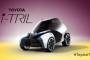 Toyota i-TRIL concept car image film