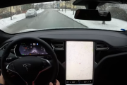 Tesla HW2 FW 17.7.2 Autosteer on local roads
