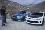2017 Chevrolet Camaro LT 1LE vs. 2016 BMW M2 - Head 2 Head Ep. 86