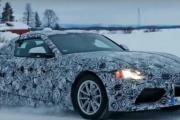 2018 Toyota Supra Winter Testing Spy Photos
