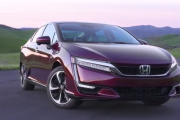 2017 Honda Clarity Fuel Cell Walk Around, Interior, Test Drive