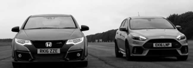 Ultimate Hot Hatch Battle: Honda Civic Type R vs. Ford Focus RS
