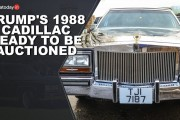 Trump's 1988 Cadillac Ready To Be Auctioned | US President Donald Trump | India Today Social