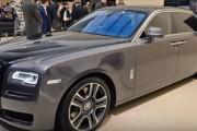 Rolls-Royce Ghost Elegance at Geneva Motor Show 2017
