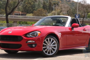 2017 Fiat 124 Spider; Pininfarina-designed Based Sedan, Excellent Infotainment, Interior, Exterior, Safety Features