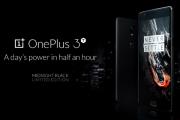 The Midnight Black OnePlus 3T