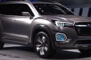 Full Version Subaru 2016 Los Angeles Auto Show Viziv-7 Concept SUV Unveiling