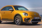 2017 Volkswagen Beetle Dune, Yellow Sedan With Powerful Engine