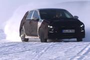 2018 Hyundai i30 N hot hatch prototype - winter testing