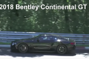 2018 Bentley Continental GT Spy Video