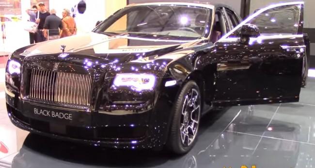 Rolls-Royce Ghost Black Badge: Edgier, Darker, and More Powerful