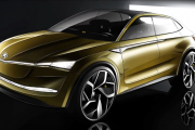 2020 Skoda Kodiaq Coupe Electric - The Vision E